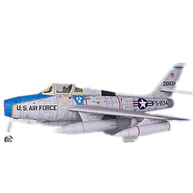 3D-puzzels Bouwplaat Modelbouwsets Vliegtuig Vechter DHZ Hard Kaart Paper Klassiek Kinderen Jongens Unisex Geschenk