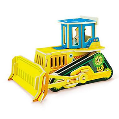 Speelgoedauto's 3D-puzzels Legpuzzel Hout Model Constructievoertuig Speeltjes Vrachtwagen 3D DHZ Hout Niet gespecificeerd Stuks