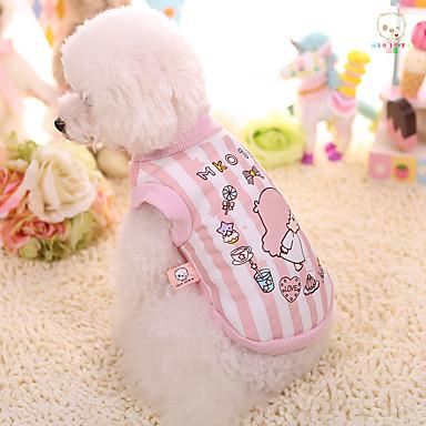 كلب كنزة ملابس الكلاب كارتون قطن بطانة فرو كوستيوم للحيوانات الأليفة الدفء