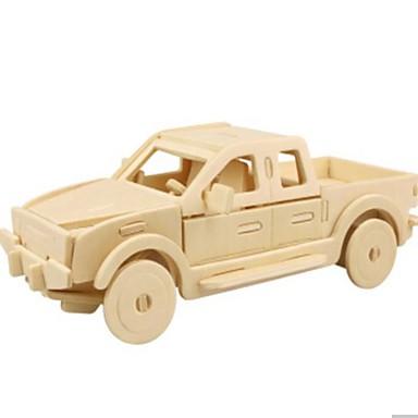 3D - Puzzle Holzpuzzle Holzmodell Auto 3D Heimwerken Holz Naturholz 6 Jahre alt und höher