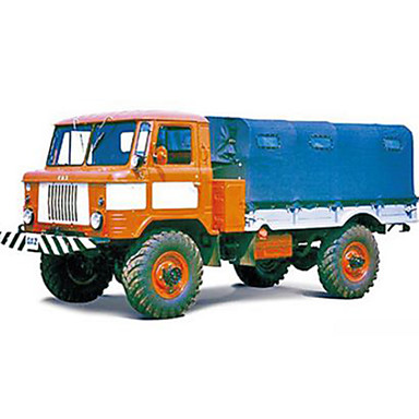 Jucării pentru mașini Puzzle 3D Modelul de hârtie Pătrat Camion Car de Război Hârtie Rigidă pentru Felicitări Camion Băieți Unisex Cadou