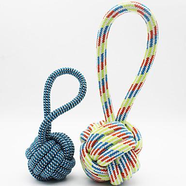 Jucărie Pisică Jucării Cățel Jucării Animale Jucării de Mestecat Jucărie Curățare Dinți Drăguț Funie Bumbac Pentru animale de companie