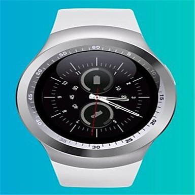 Herrn Modeuhr Armbanduhr Smart Watch digital Silikon Band Schwarz Weiß