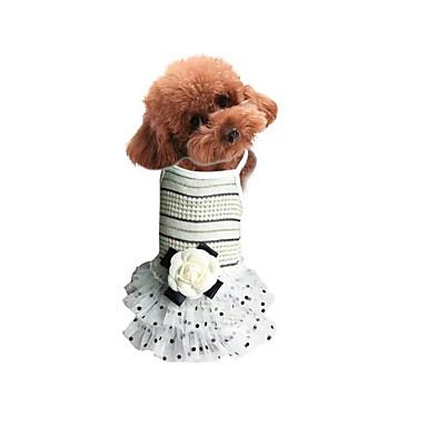Câine Rochii Îmbrăcăminte Câini Casul/Zilnic Prințesă Bej Roz Costume Pentru animale de companie