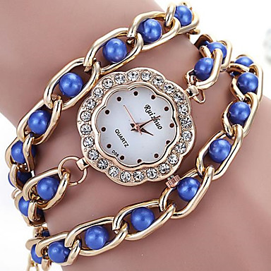 Damen Armband-Uhr digital Metall Band Schwarz Rot Braun Rosa Lila Marinenblau Rose