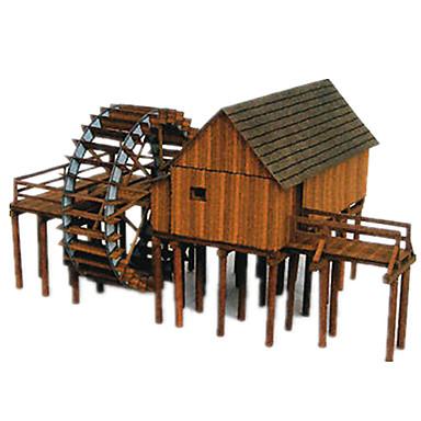 Puzzle 3D Lucru Manual Din Hârtie Arhitectură Reparații Clasic Unisex Cadou