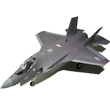 3D - Puzzle Papiermodel Spielzeuge Quadratisch Flugzeug Heimwerken Hartkartonpapier keine Angaben Stücke