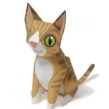 Puzzle 3D Modelul de hârtie Lucru Manual Din Hârtie Μοντέλα και κιτ δόμησης Circular Animale Reparații Clasic Desen animat Unisex Cadou