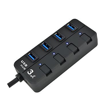 4 Ports USB-Hub USB 3.0 Mit Switch (es) Daten-Hub USB 3.0