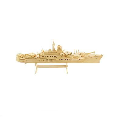 3D-puzzels Legpuzzel Hout Model Vliegdekschip Speeltjes Oorlogsschip Vliegdekschip 3D Hout Niet gespecificeerd Stuks
