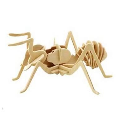 3D - Puzzle Holzpuzzle Holzmodell Spielzeuge Löwe Tier 3D Heimwerken Holz Naturholz Unisex Stücke