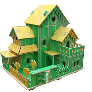 3D - Puzzle Holzpuzzle Holzmodelle Berühmte Gebäude Architektur andere 3D Heimwerken Holz Naturholz Klassisch Unisex Geschenk