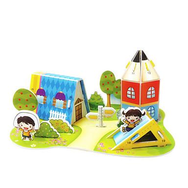 3D-puzzels Legpuzzel Modelbouwsets Beroemd gebouw Huis Architectuur DHZ Hard Kaart Paper Klassiek Anime Cartoon Kinderen Unisex Geschenk