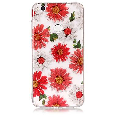 Fall für huawei p8 lite (2017) p10 lite Telefon Fall tpu Material imd Prozess Blumen Muster hd Flash Pulver Telefon Fall p9 lite p8 lite