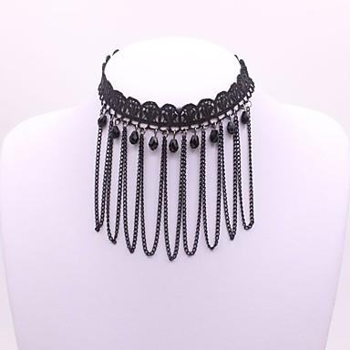Pentru femei Geometric Shape Clasic Modă Coliere Choker Diamant sintetic Aliaj Coliere Choker . Petrecere Zilnic Serată Scenă