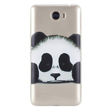 Maska Pentru Huawei Honor 5C Huawei Transparent Model Capac Spate Panda Moale TPU pentru Huawei Honor 5C Huawei Y5 II / Honor 5 Huawei
