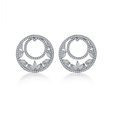 Pentru femei Zirconiu Cubic De Bază Inimă Modă Stâncă Bling bling Plastic Zirconiu Argilă Bijuterii Nuntă Petrecere Cadou Scenă aleasă a