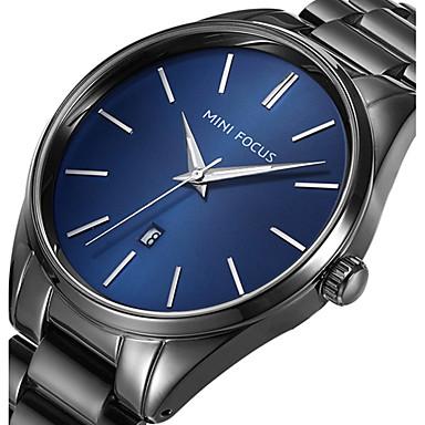 Bărbați Unic Creative ceas Ceas de Mână Ceas Militar  Ceas La Modă Ceas Sport Ceas Casual Quartz Calendar Oțel inoxidabil Bandă Charm Lux