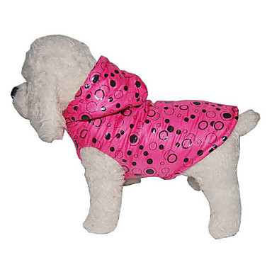 Hund Mäntel Hundekleidung Punkt Fuchsia / Rosa Baumwolle Kostüm Für Haustiere Herrn / Damen Lässig / Alltäglich