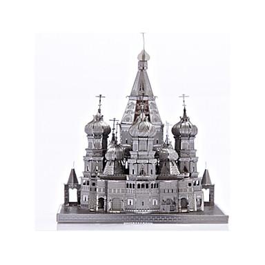 Puzzle Puzzle Metal Jucarii Clădire celebru Biserică 3D Reparații Aliaj Ne Specificat Bucăți
