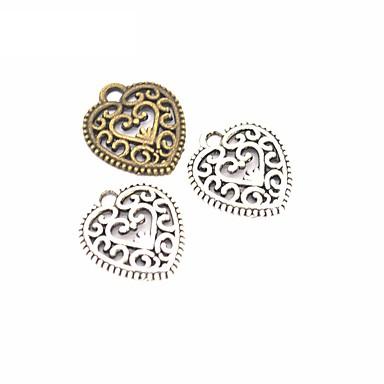 للمرأة تعليقات مجوهرات قلب سبيكة موديل الزينة المعلقة مجوهرات من أجل يوميا فضفاض كاجوال/يومي