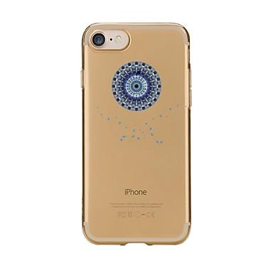 Fall für iphone 7 6 Mandala tpu weiche ultradünne rückseitige Abdeckungsfallabdeckung iphone 7 plus 6 6s plus se 5s 5 5c 4s 4