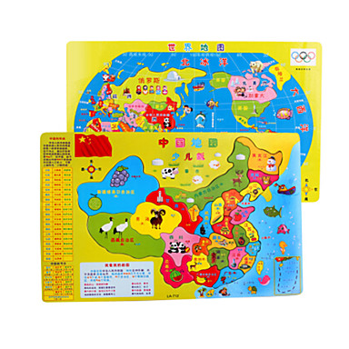 Holzpuzzle Bildungsspielsachen Hühnchen Frucht Holz Anime Zeichentrick Unisex Geschenk