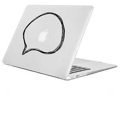 macbook etuis pour jeux avec logo apple transparente dessin anim 3d pvc macbook pro 13 pouces