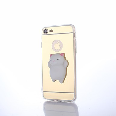 te Custodia Resistente iPhone squishy animati 8 06507162 retro Cartoni da X Per A X Per Apple iPhone Fai per Animali specchio iPhone Acrilico rTrRxnPg