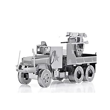 لعبة سيارات تركيب معدني شاحنة عربة 3D اصنع بنفسك سبيكة شاحنة للجنسين هدية