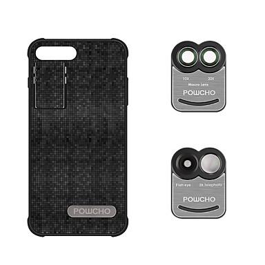 Obiectivul telefonului mobil Lentile Fish-Eye Lentilă Macro Aliaj de Aluminiu 10X și peste 0.02 Lentile cu Carcasă