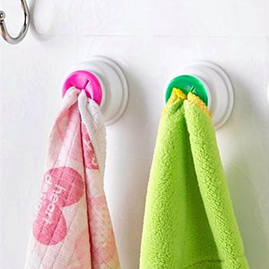 Racks & Holders Cute נשיאה Creative מטבח גאדג'ט נדבק לבד בוטיק PVC עמ' 1pc ארגון אמבטיה
