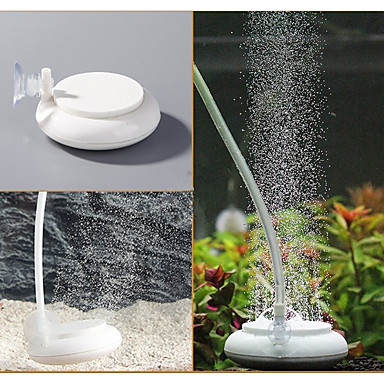 أحواض السمك مضخات الهواء بلاستيك حجر