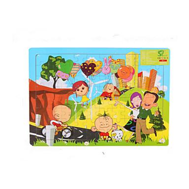 Puzzle Puzzle Lemn Jucării Educaționale Jucarii Desen animat Other Fruct Lemn Unisex Bucăți