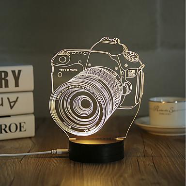 Decorațiuni Luminoase LED-uri de lumină de noapte Lumini USB-0.5W-USB Decorativ - Decorativ
