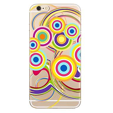 Caz pentru iphone 7 7 plus model geometric model tpu soft back cover pentru iphone 6 plus 6s plus iphone 5 se 5s 5c 4s