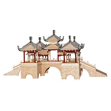 Kit Lucru Manual Puzzle 3D Puzzle Jucarii Clădire celebru Arhitectură 3D Reparații Unisex Bucăți