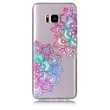 غطاء من أجل Samsung Galaxy S8 Plus S8 نموذج غطاء خلفي زهور ناعم TPU إلى S8 S8 Plus S7 edge S7 S6 edge S6