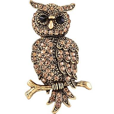 Pentru femei Broșe Design Animal costum de bijuterii Aliaj Animal Shape Pisica Bijuterii Pentru Casual Serată Dată Anul Nou