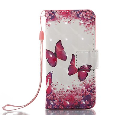 Case For iTouch 5/6 Wallet Card Holder with Stand Flip Pattern Full Body Cases PU Leather Hard