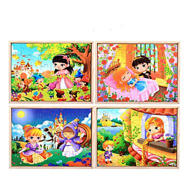 Puzzle Puzzle Lemn Jucării Educaționale Desen animat Fruct Other Lemn Anime Desen animat Unisex Cadou