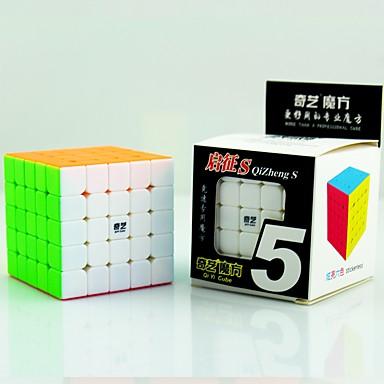 cubul lui Rubik QIYI 5*5*5 Cub Viteză lină Cuburi Magice Jucării Educaționale Alină Stresul puzzle cub Distracție Dreptunghiular Cadou