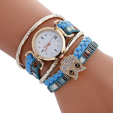 Damen Kinder Einzigartige kreative Uhr Armbanduhr Armband-Uhr Modeuhr Sportuhr Armbanduhren für den Alltag Chinesisch Quartz Mehrfarbig