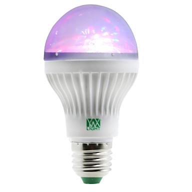 1W E27 LED Kugelbirnen 5 Leds SMD RGB 100-150lm 2800-3200/6000-6500K AC 85-265V