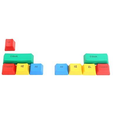9 toetsen PTT kleurrijke keycap set voor mechanische toetsenbord top gedrukt