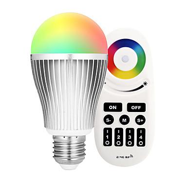9W 900lm E27 LED 스마트 전구 A60(A19) 18 LED 비즈 SMD 5730 Wifi 적외선 센서 밝기조절가능 조명 제어 APP 제어 리모컨 작동 RGB + 웜 85-265V