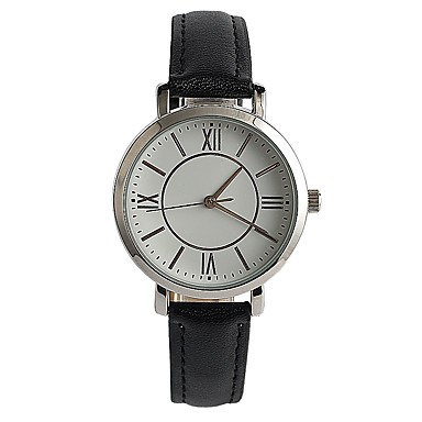 Pentru femei Ceas La Modă Ceas de Mână Japoneză Quartz / PU Bandă Casual Elegant Negru