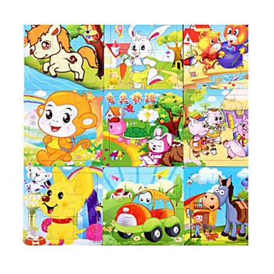 Puzzle Puzzle Lemn Jucării Educaționale Jucarii Rabbit Lebădă Navă Camion Other desen animat în formă Fruct Lemn Unisex Bucăți