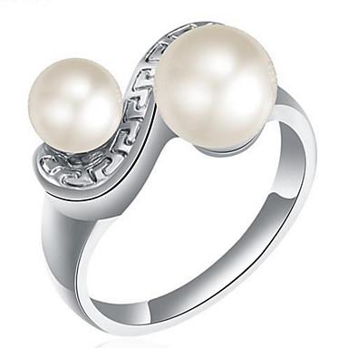 Damen Bandring Imitierte Perlen Personalisiert Luxus Klassisch Grundlegend Sexy Liebe Elegant nette Art Modisch Künstliche Perle Aleación