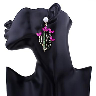 Pentru femei Cercei Picătură Cercei Rotunzi  Cercei Set Imitație de Perle Ștras Multi-moduri Wear Cute Stil Bling bling MetalicImitație